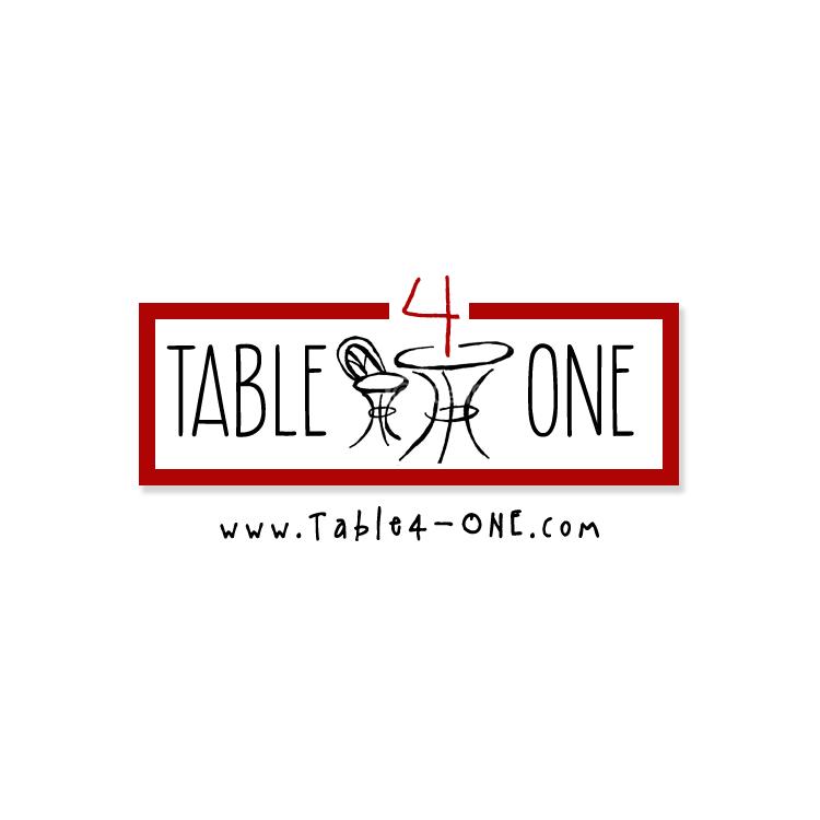 PickleJuice Logo Design : Table 4 One