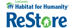 Lowcountry Habitat for Humanity ReStore Logo | PickleJuice Productions