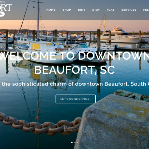 Main Street Beaufort Web Design | PickleJuice Productions