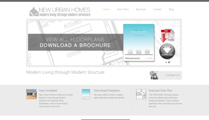 dwell new urban - New Urban Homes Web Design | PickleJuice Productions