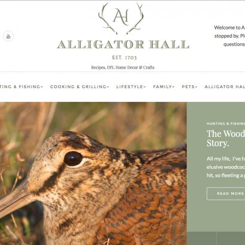 Sara Sanford's Alligator Hall Web Design| Recipes, DIY, Home Decor & Crafts
