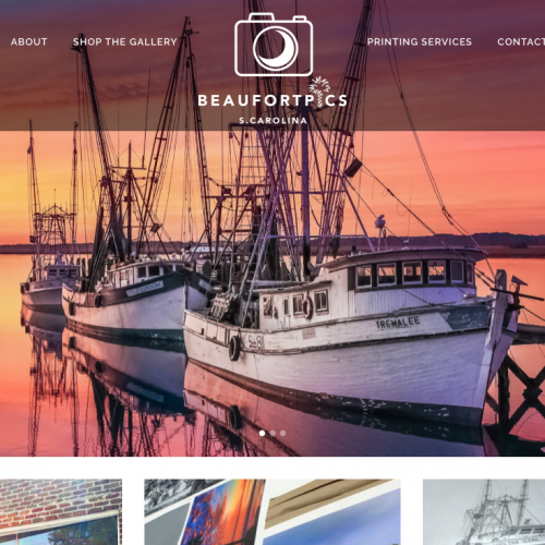 Beaufort Web Design | BeaufortPics.com | Pictures of Beaufort, South Carolina and Lowcountry