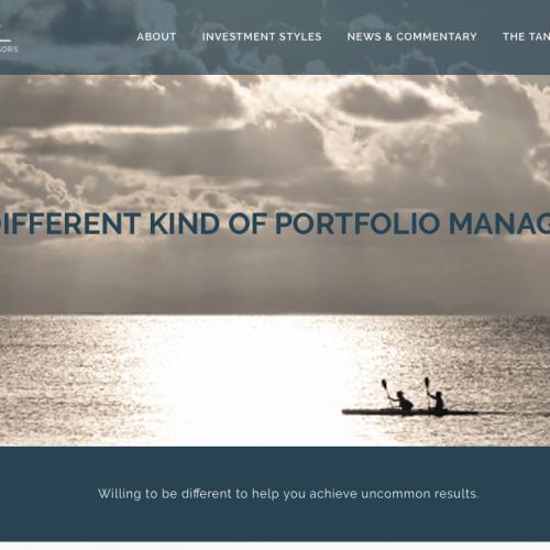 Beaufort Website Design | Tandem Investment Advisors | PickleJuice Productions