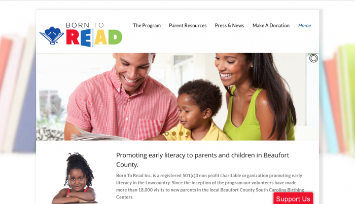 Beaufort Web Design | Born To Read | PickleJuice Productions