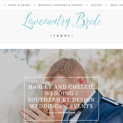 Lowcountry Bride Logo | PickleJuice Productions
