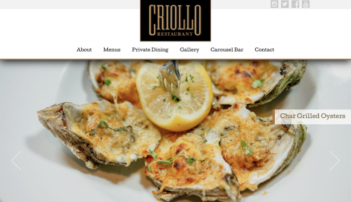 Beaufort Web Design | Criollo NOLA | Hotel Monteleone « New Orleans Luxury Hotel & French Quarter Hotel