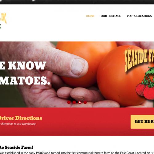 Beaufort Website Design | Seaside Farm, Inc. | PickleJuice Productions