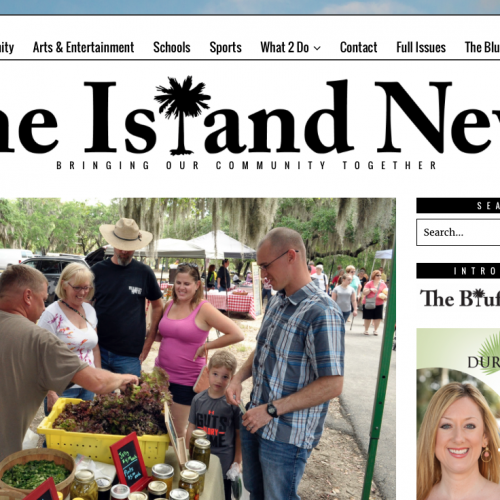 The Island News Web Design | PickleJuice Productions