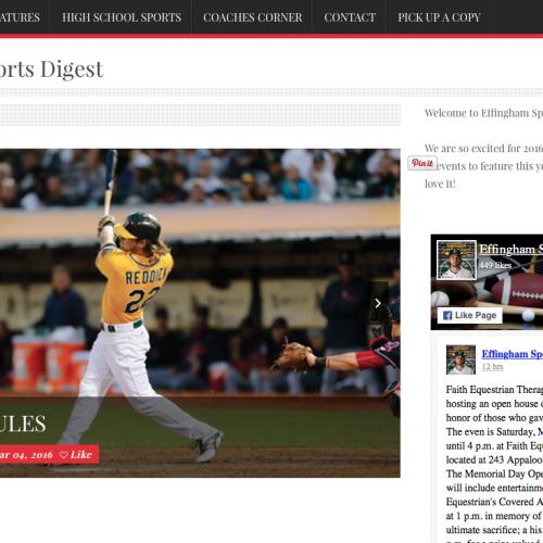 Effingham Sports Digest | PickleJuice Productions