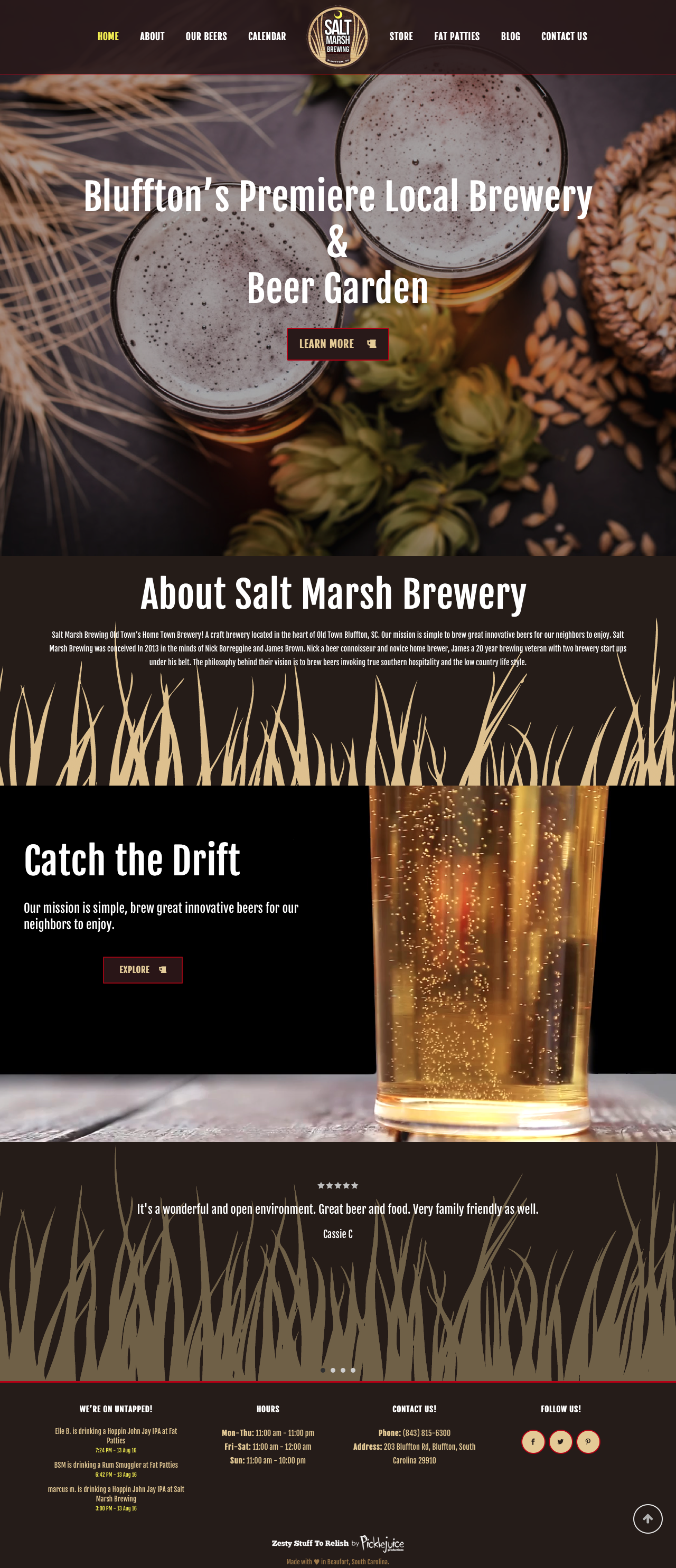 Salt Marsh Brewing | PickleJuice Productions