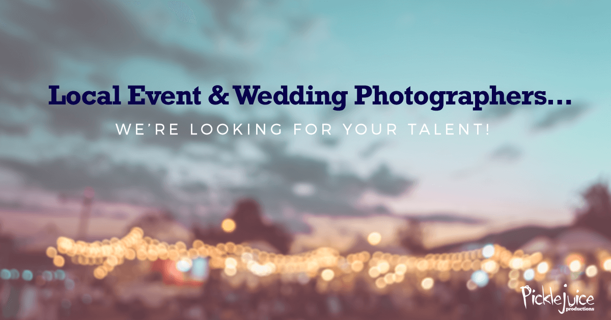 Photography Call for Event & Wedding Photographers in Beaufort, South Carolina