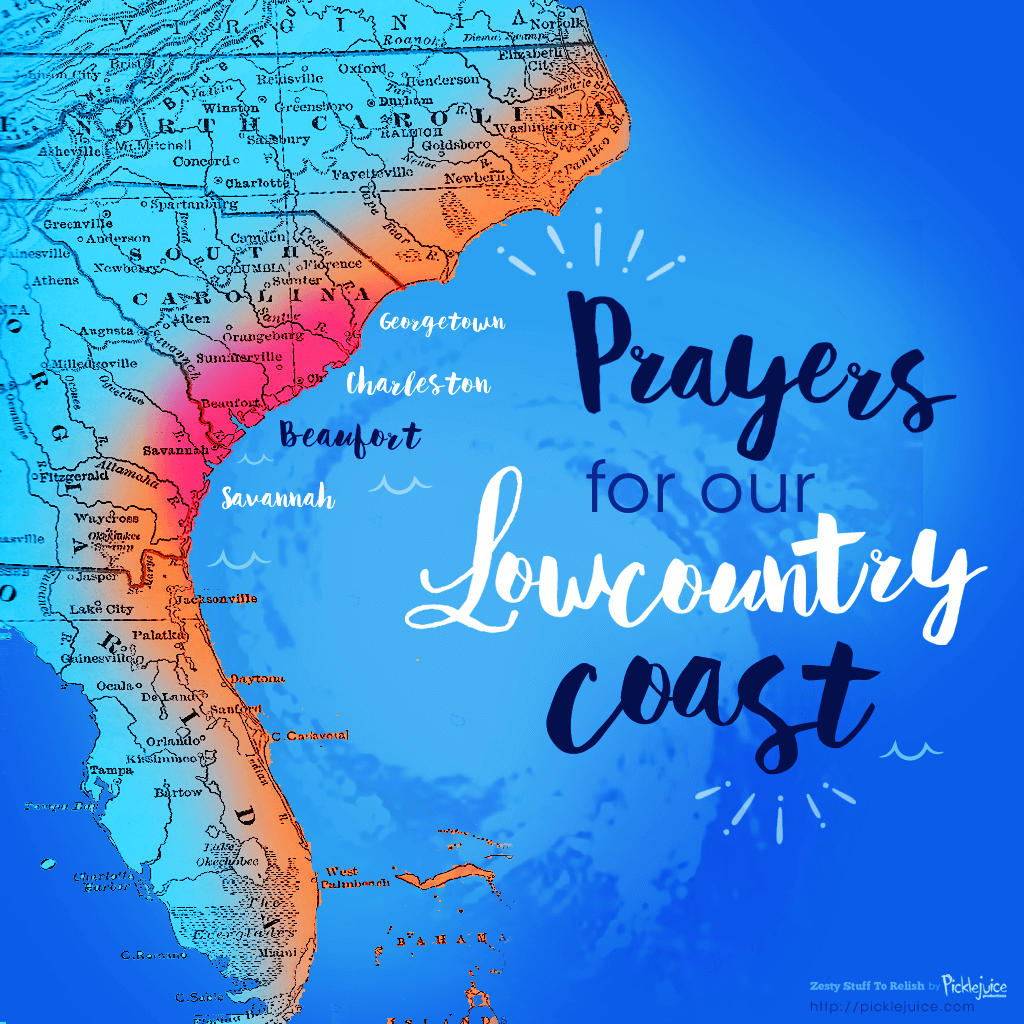 Hurricane Matthew - Prayers for Our Lowcountry Coast!