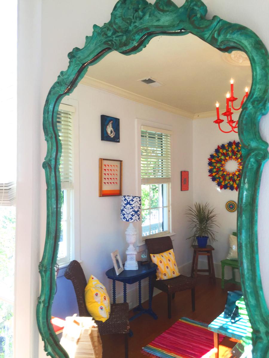 Antique Mirror | PickleJuice Productions, Beaufort SC | http://picklejuice.com