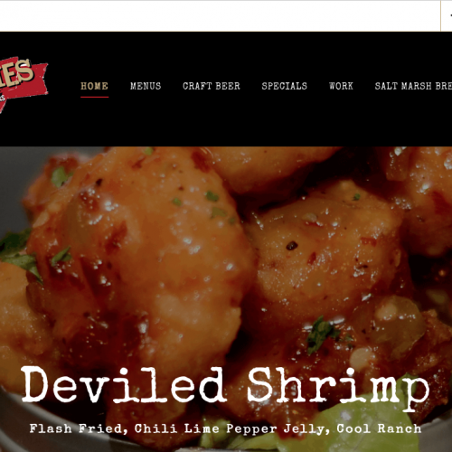 Fat Patties | Burgers & Craft Beer Beaufort & Bluffton, SC Web Design | PickleJuice Productions
