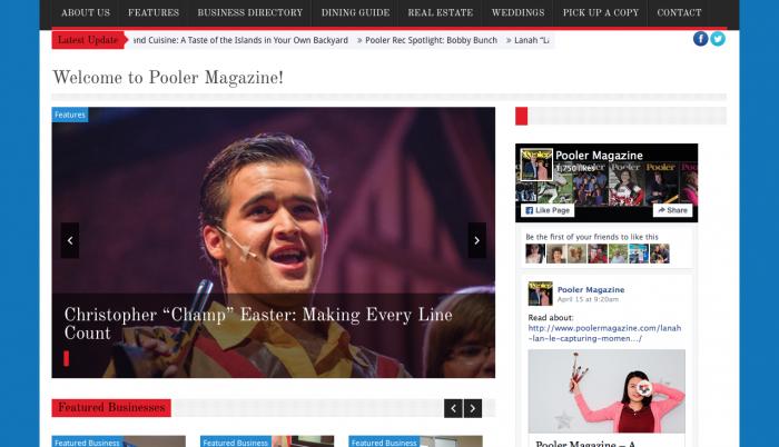 Beaufort Web Design   Pooler Magazine   PickleJuice Productions