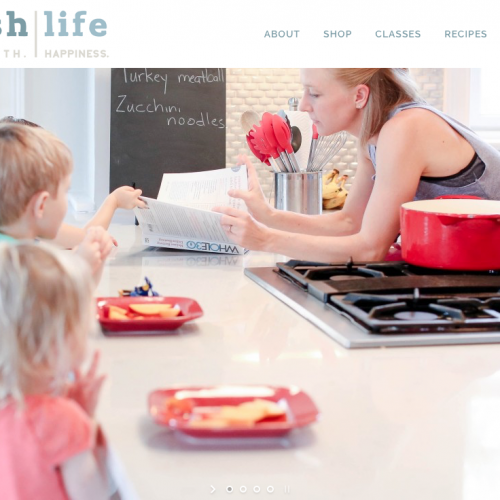 Beaufort Web Design | Nourish Life Fitness | Fitness. Health. Happiness. - Hannah Cordill, BeachBody Fitness Coach
