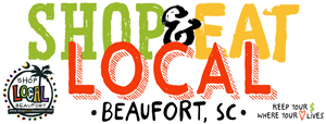 Shop & Local Beaufort Logo | PickleJuice Productions