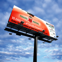 Billboard Design - Tomato Festival - PickleJuice.com