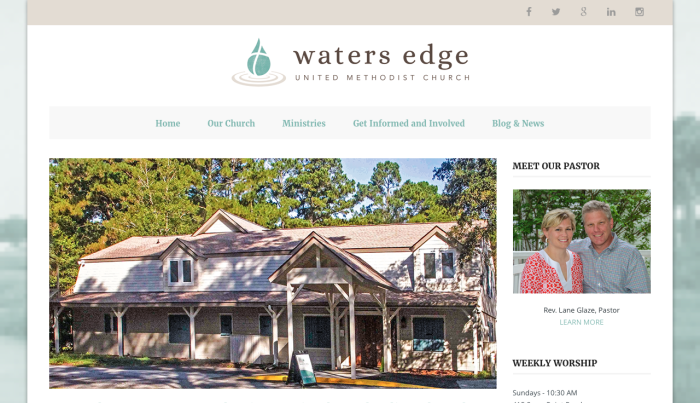 Waters Edge UMC Beaufort | PickleJuice Productions