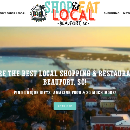 Beaufort South Carolina, USA | Shop & Eat Local | PickleJuice Productions